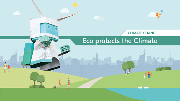 ECO PROTECTS THE CLIMATE