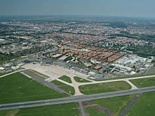 Aerial view City Airport